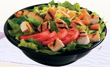 Side Garden Salad at Taxi's Hamburgers
