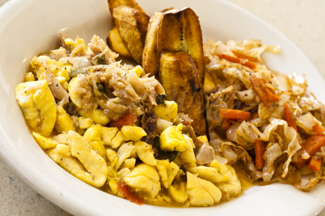 Photo of Ackee and Saltfish