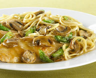 Chicken Marsala at California Pizza Kitchen