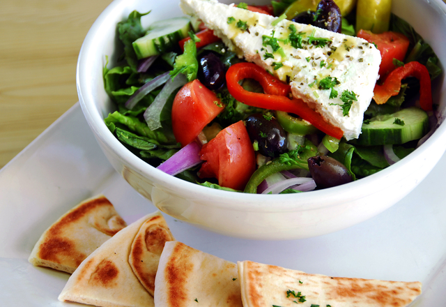 Greek Salad at Kafe Neo