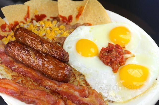 Huevos Rancheros at columbia restaurant