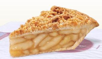 Dutch Apple Pie at Taxi's Hamburgers
