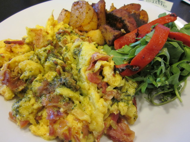 Green Eggs and Ham at Morning Glory Farm Fresh Cafe