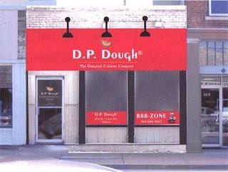 Exterior at D P Dough