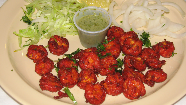 Shrimp Koliwada - Shrimp Koliwada at Mumbai Chowk