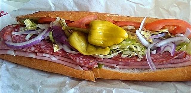 Cortina's Special Sub Sandwich at Cortina Italian Market