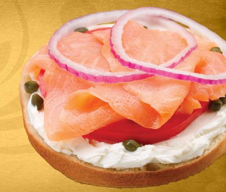 Nova Lox & Bagel at Einstein Bros. Bagels