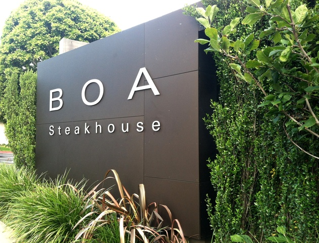 Exterior at Boa Steakhouse