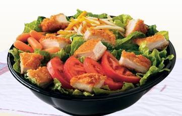 TENDERCRISP® Garden Salad at Taxi's Hamburgers