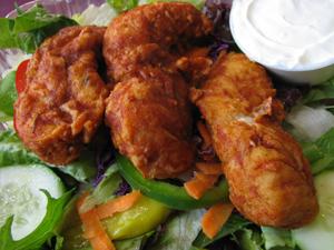 Buffalo Chicken Salad at Mark's Sandwich Shop