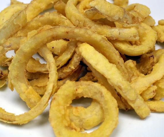 Crispy Onion Rings at Royal Roast Beef & Seafood