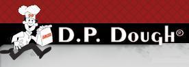 Logo at D.P. Dough