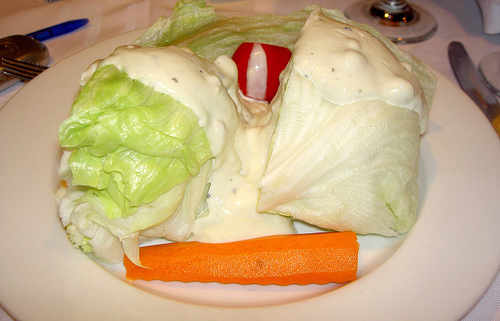 Wedge Salad at Dal Rae