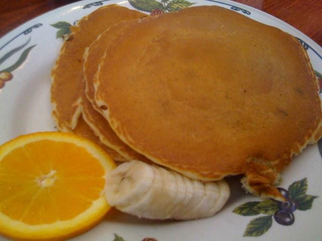 Strawberry Pancakes at Bread & Porridge