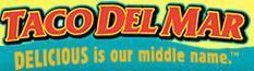 Logo at Taco del Mar