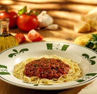 Spaghetti with Meat Sauce at Olive Garden