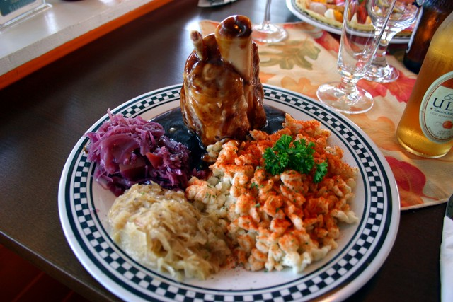 Osso Buco at Black Forest Cottage