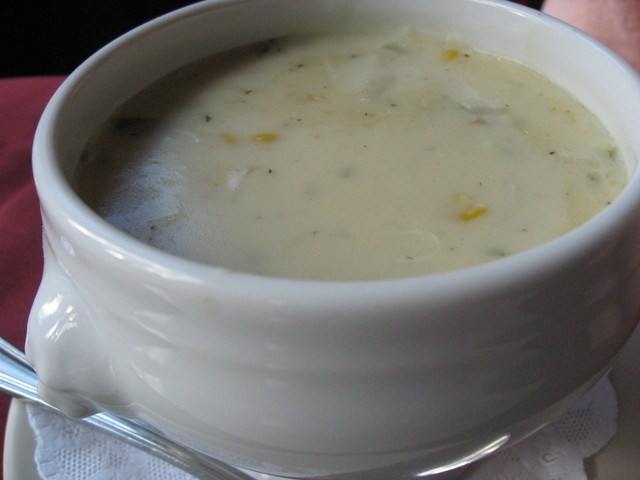Photo of Roasted corn and crab soup (daily special)