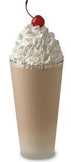 Chocolate Milkshake at Chick-fil-A