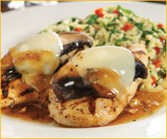 Chicken Portobello at Romano's Macaroni Grill