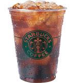 Iced Caffè Americano at Starbucks Coffee