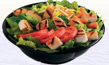 TENDERGRILL™ Garden Salad at Taxi's Hamburgers