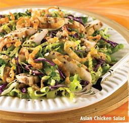 Asian Chicken Salad at Carrows