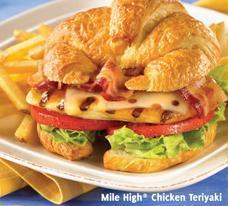 Mile High® Chicken Teriyaki at Carrows