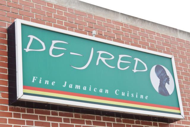 Exterior at De-Jred Fine Jamaican Cuisine