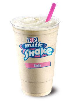 Vanilla Shake at Dunkin' Donuts/Baskin Robbins