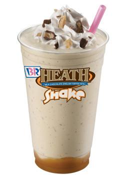 Heath® Shake at Dunkin' Donuts/Baskin Robbins