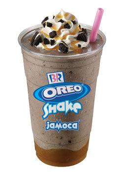 Jamoca® Oreo® Shake at Dunkin' Donuts/Baskin Robbins