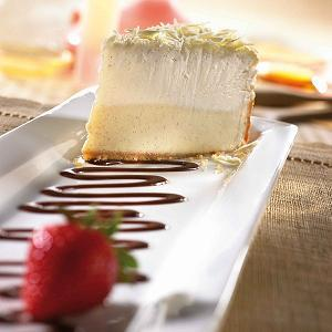 Vanilla Bean Cheesecake at T.G.I. Friday's