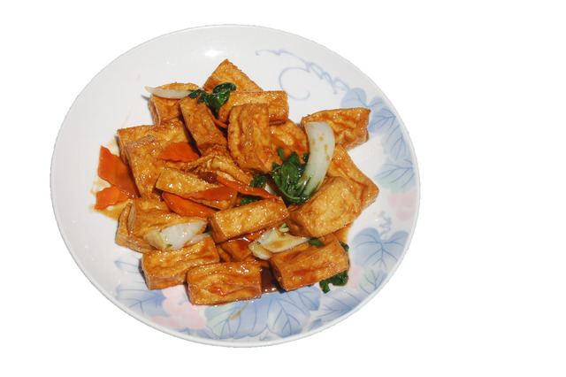 Hot Braised Bean Curd at Shanghai Restaurant