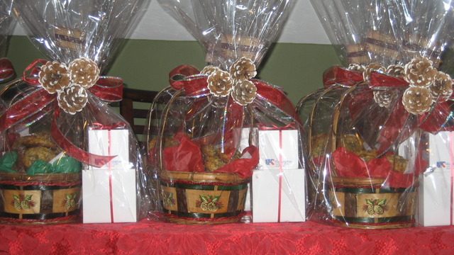 Holiday Basket at Cookie Central
