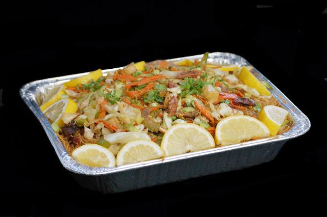 Dish at Kadok's House of Mami Siopao