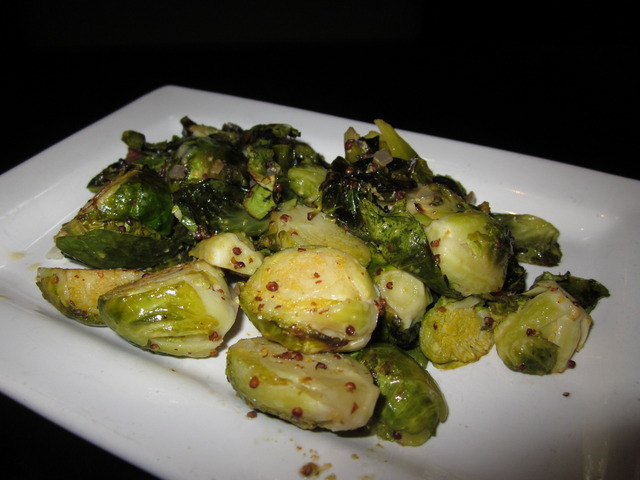 Brussels Sprouts at Devon Seafood + Steak
