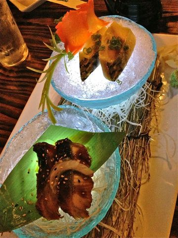 glowing food! - Unagi & Mackeral at Kai Sushi & Sake Bar