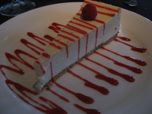 rasberry - Cheesecake at Harborside Restaurant & Grand
