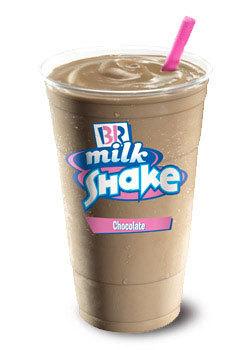Chocolate Shake at Dunkin' Donuts/Baskin Robbins