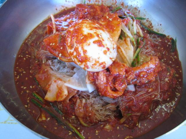 Photo of Spicy buckwheat noodles (bi bim naeng myun)