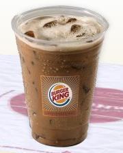 Mocha BK JOE® Iced Coffee at Taxi's Hamburgers