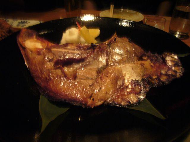 Hamachi Kama at EN Japanese Brasserie