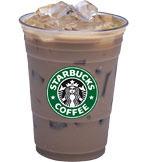 Iced Caffè Latte at Starbucks Coffee