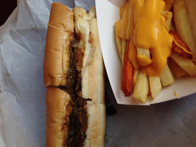 Regular Philly at Philly Steakout