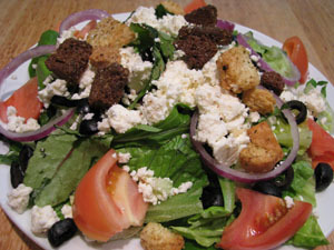 Krazy Karry's - Salad - Salad at Krazy Karry's (CLOSED)