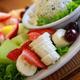 Chicken Salad & Fruit Plate at Peach's Cortez