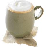 Vanilla Latte + Protein at Tully's Coffee