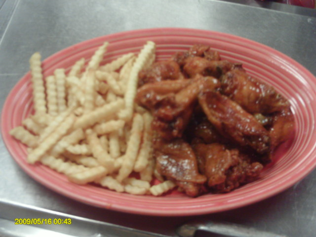 Photo of Wings and Fries
