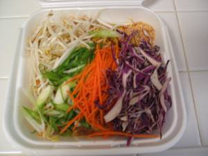 Chicken Pad Thai - Takeout - Chicken Pad Thai at Singapore Express